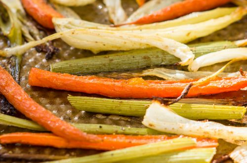 roasted carrot and fennel