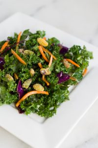 Kale Cabbage Carrot Salad