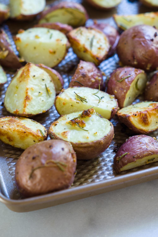 Rosemary Garlic Red Potatoes