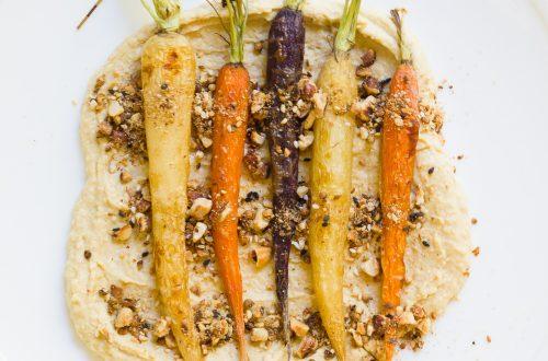 Maple Roasted Carrots