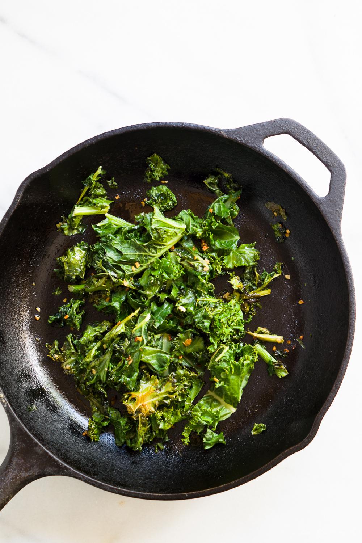 Sautéd Kale with Garlic
