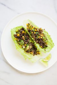 Southwest Quinoa Boats