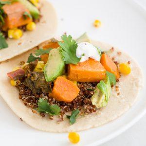 Quinoa Sweet Potato Tacos
