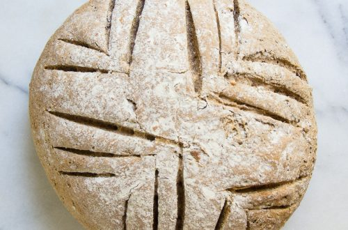 Everyday Whole Wheat Walnut Bread