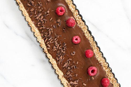Chocolate Coconut Cream Tart