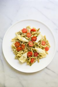 Simple Pesto Gemelli