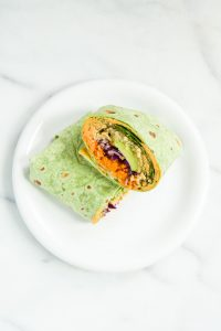 Vegan Rainbow Wrap