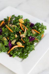 Kale Cabbage Carrot Salad