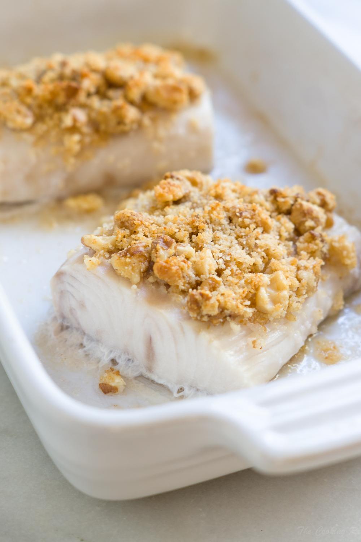 Walnut Crusted Mahi