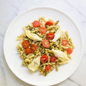 Simple Pesto Gemelli