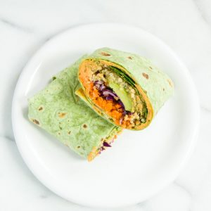 Vegan Rainbow Wrap