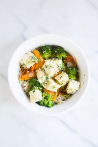Ginger Garlic Tofu